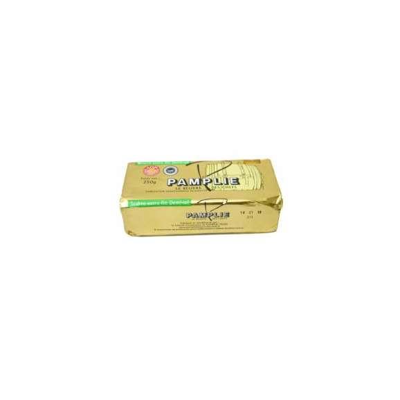 バター パムプリー 250g 有塩 フランス ポワトゥーシャラン産 Pamplie AOC01