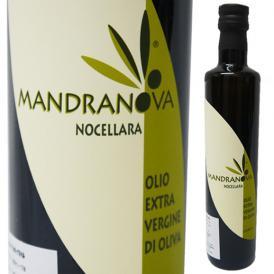 【取寄5日前後】イタリア シチリア産 マンドラノーバ EXVオリーブオイル 500ml マンドラノーバ社