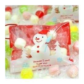 クリスマス オーナメントキャンディー 100袋