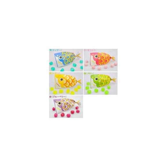 【こどもの日・端午の節句】プチ京鯉のぼり 4ケース(200袋入り)02