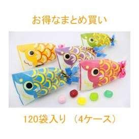 プチ京鯉のぼり【ブライダルVer.】120袋入り(4ケース)