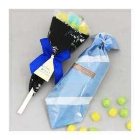 【父の日】キャンディーブーケハンカチ包みセット【送料無料】【限定50セット】