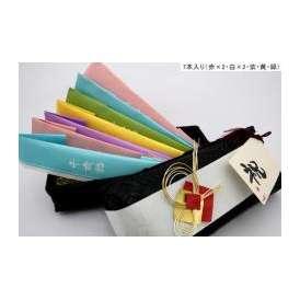 【七五三】のりとばこ 7本入り(赤×2・白×2・紫・黄・緑)