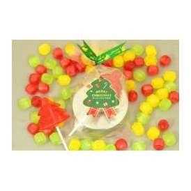 クリスマスキャンディ缶 5ケース(100個)