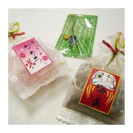 【必勝合格祈願お菓子飴】勝ってサクラ咲く お守り付 1ケース(10袋)