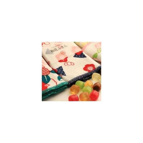 ホワイトデー 和花ふきん(2枚)と飴さんセット01