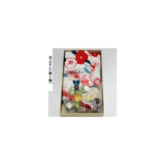 ホワイトデー 和花ふきん(2枚)と飴さんセット02