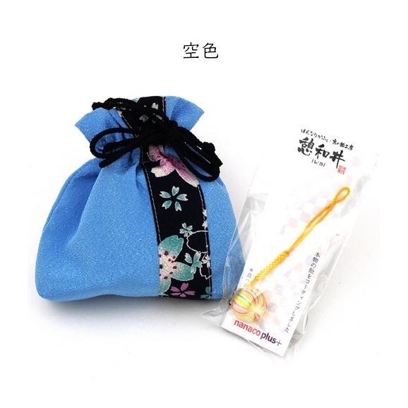 母の日 ちりめん巾着~ほのか~&京飴ストラップセット02