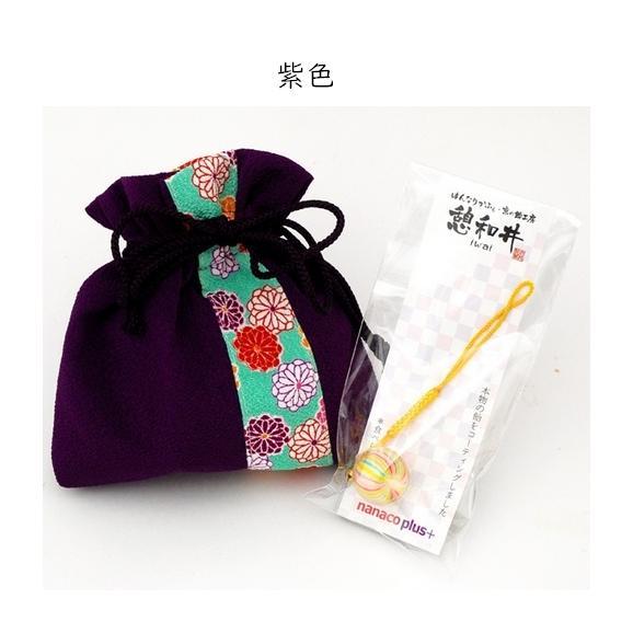 母の日 ちりめん巾着~ほのか~&京飴ストラップセット03