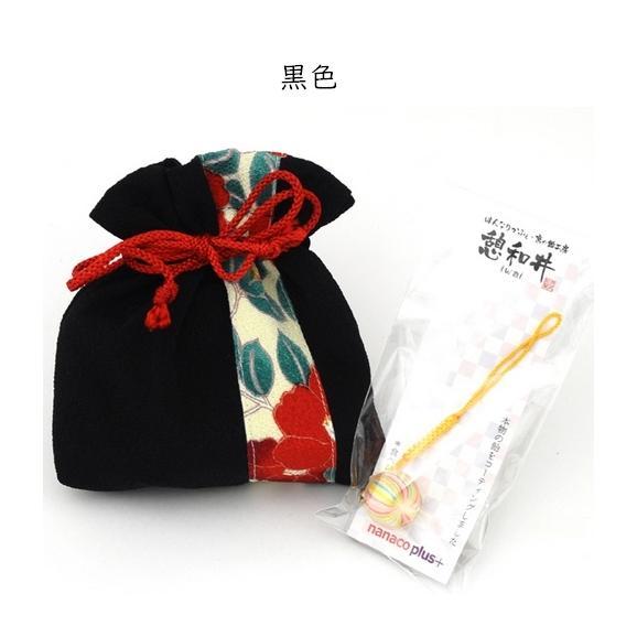 母の日 ちりめん巾着~ほのか~&京飴ストラップセット04