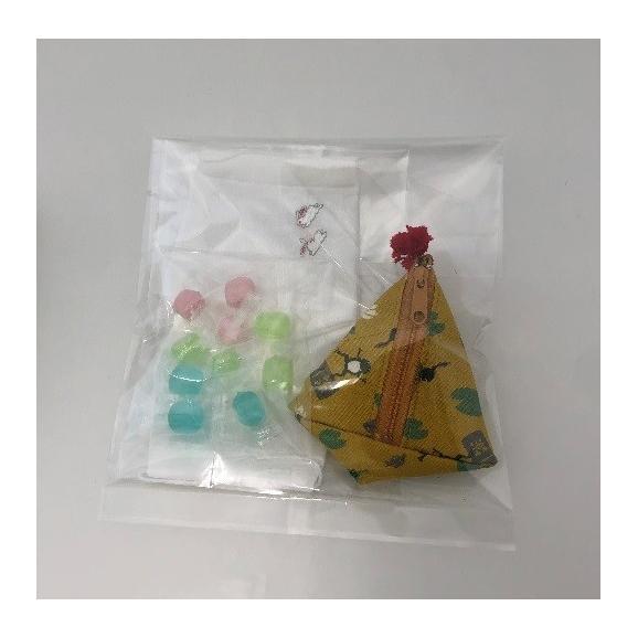 母の日 飴とマスクセット 三角ポーチ ~アメトマスク~【送料無料】06