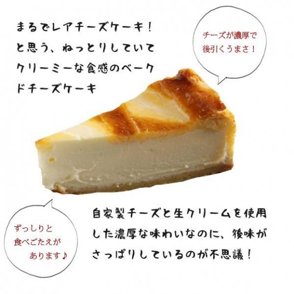 ベークドチーズケーキ 6号 04