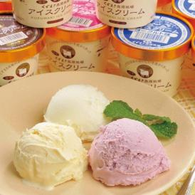 くずまき高原アイスクリームセット 【送料無料】 【120ml × 12個】