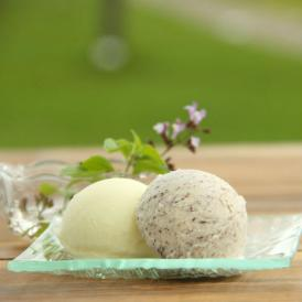濃厚でコクがあるのにあっさりした後味の本格プレミアムアイスクリームです。