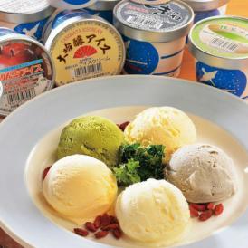 岩手の銘酒「あさ開」の大吟醸酒(酒粕)を使用したアイスも入った個性派アイスの詰合せです。