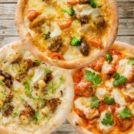 手作り極上冷凍ピザ「勘太郎ピザ淡路島お肉セット」送料無料