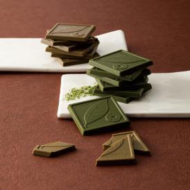 京都きよ泉 宇治のチョコレート「ファミリーパック」抹茶・ほうじ茶チョコ計40枚【送料無料】【ギフト・お歳暮】
