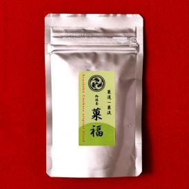 菓道一菓流 抹茶 「菓福」40g