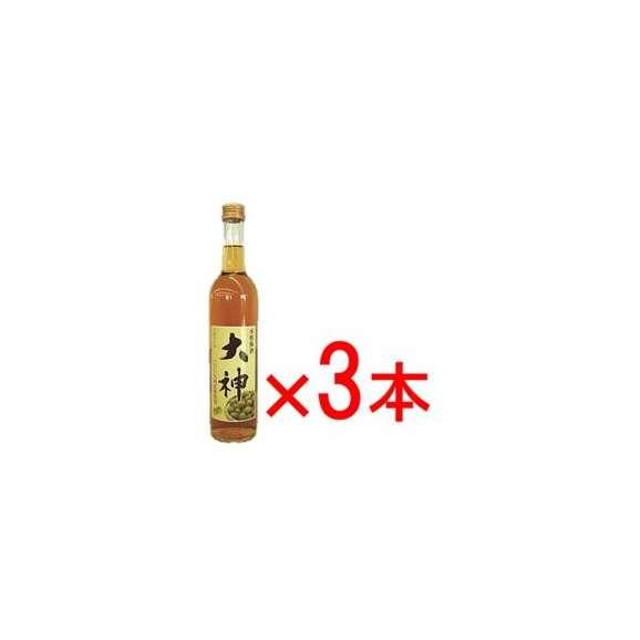 送料無料 本格梅酒 大神 500ML 3本セット02