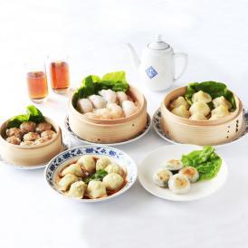 【送料込】 重慶飯店 飲茶セット5種-P