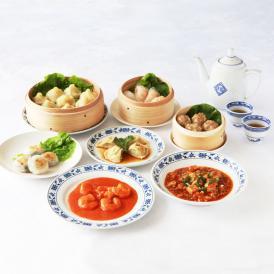 【送料込】重慶飯店 飲茶料理セット7種-Q