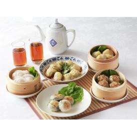 【送料込】重慶飯店  飲茶セット5種-D