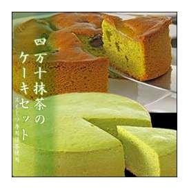 【スウィーツ専用抹茶使用】四万十抹茶のケーキセット