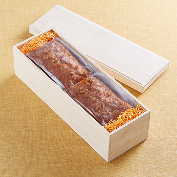 九度山産の完熟富有柿 パウンドケーキ04