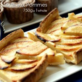 話題の本場フランスのピュレと薄切りのりんご(60%以上使用)で果実味をしっかり味わえるタルトです。