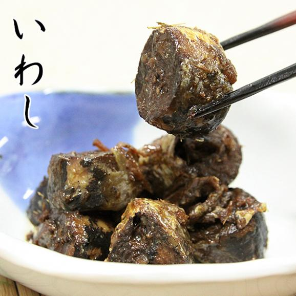 佃煮 手作り甘露煮セット(かつお/さんま/いわし)  送料無料 お中元/ギフト06
