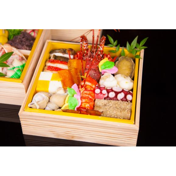 加賀特選おせち料理三段02