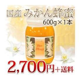 国産みかん蜂蜜600g