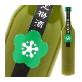 【9月1日出荷開始】富士高砂酒造 蔵出限定梅酒緑茶入り 500ml