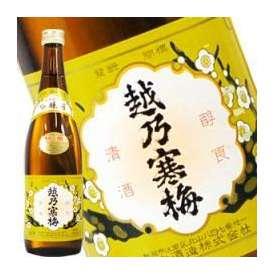 越乃寒梅 特撰 吟醸酒 720ml