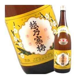 【9月1日出荷開始】越乃寒梅 別撰 特別本醸造 1800ml
