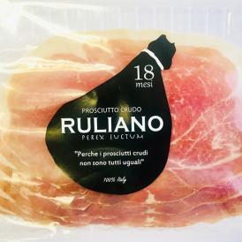 【送料無料】[RULIANO]イタリア産 プロシュート ルリアーノ18ヶ月熟成×80g[冷蔵][賞味期限:お届け後10日以上]【1~2営業日以内に出荷】
