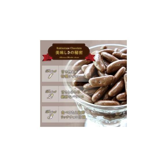[予約商品]【送料無料】冬季限定 チョコたっぷりリッチ仕様 柿の種チョコレート選り取り[メール便]02