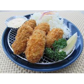 肉厚でジューシーな広島産ジャンボかきフライ