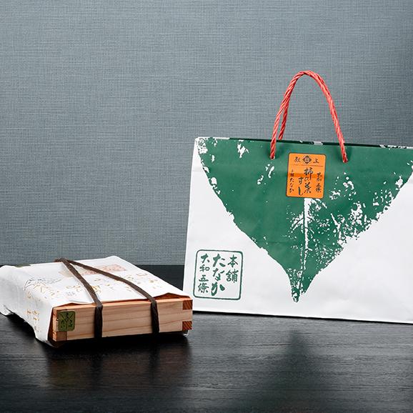 特製木桶詰 柿の葉すし02