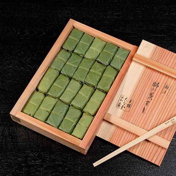 特製木桶詰 柿の葉すし04