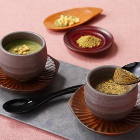 玄米茶とほうじ茶の生チョコレート