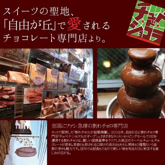 割れチョコミックス5 ミルク多め【チュベドショコラ】【チョコレート】04