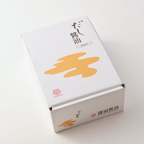 だし醤油 2本入 (500ml)02