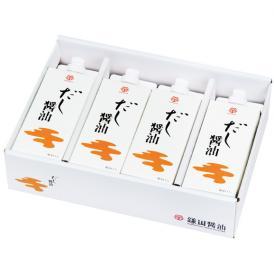 だし醤油 4本入 (500ml)