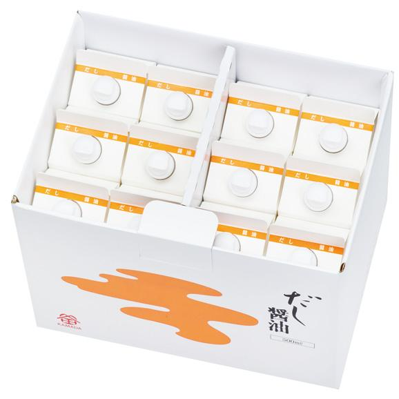だし醤油 12本入 (500ml)01