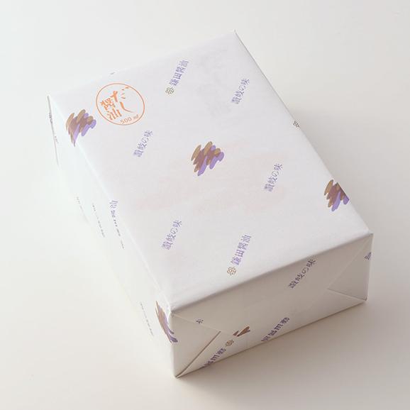 <低塩タイプ> 精進だし醤油 7ヶ入 (200ml)03