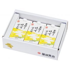 素材の旨みゆずぽん酢3ヶ入(200ml)