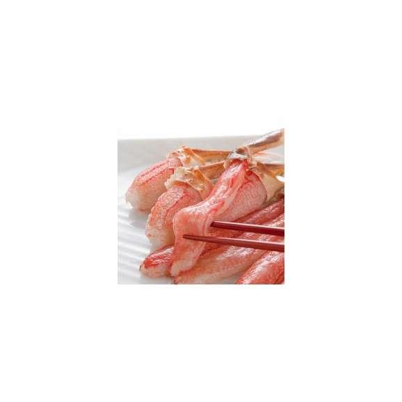 【送料無料】 4L ずわいがに棒肉 500g (20~25本入り) かに/蟹/ずわい/ズワイ/ポーション/かにしゃぶ/カニ鍋/かに鍋/焼きガニ/カニステーキ02