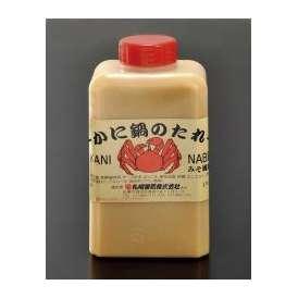 【送料別】 かに鍋のたれ 1本 みそ風味 たれ/カニ/かに/蟹/カニしゃぶ/かに鍋/蟹工船/タレ
