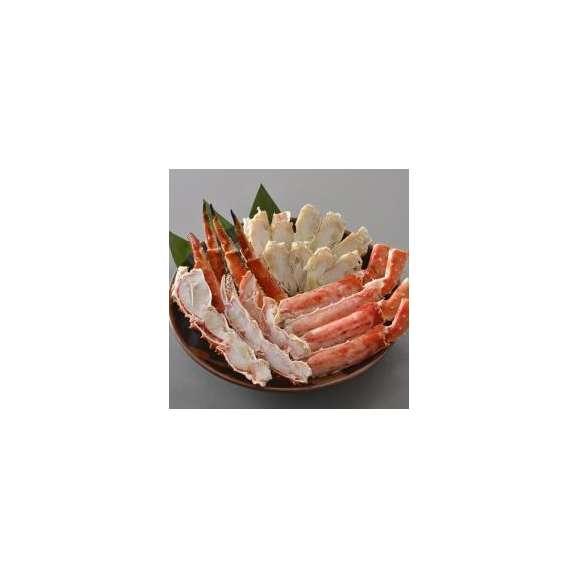 【送料無料】 たらばがに足を食べやすくカット済み!(肩肉を含む) ボイルたらばがにビードロカット 800g前後 焼きガニ/かに鍋/かにすき/たらば/タラバ/カット/ビードロ03